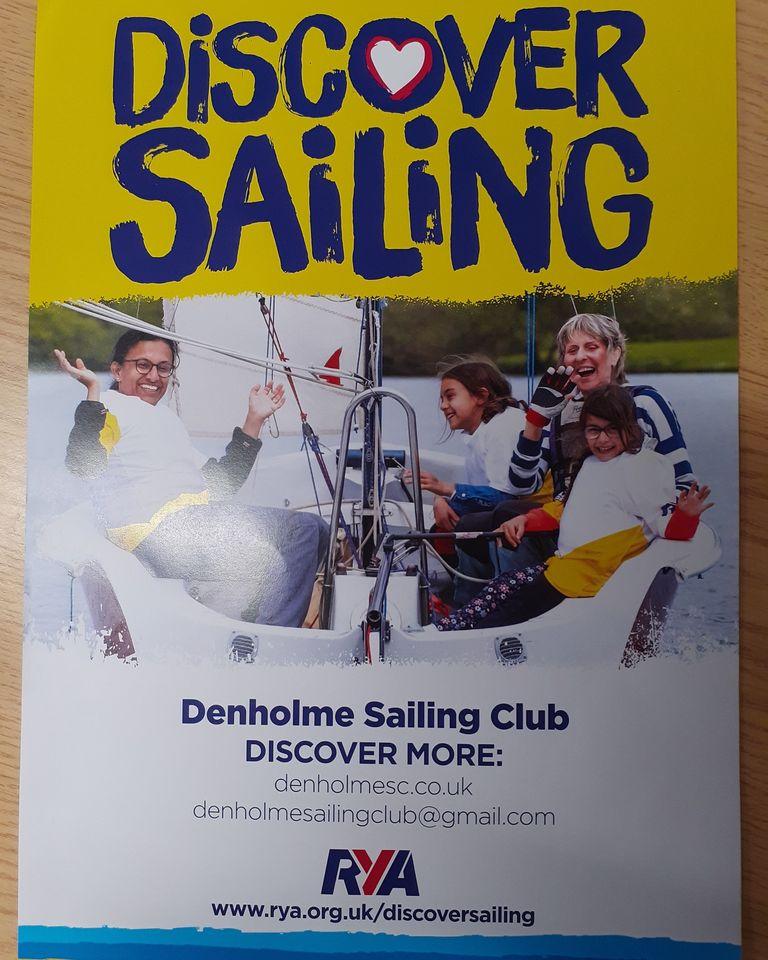 "RYA poster ""Discover Sailing"""