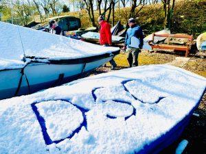 DSC written in the snow
